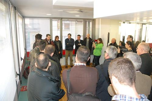 L'acte ha comptat amb la participació de Josep Salom, alcalde de Tona, i Lurdes Baulenas, presidenta del Consell Empresarial d'Osona.