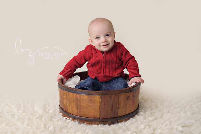 12213974635 11bdc7064a c Isaac is 6 Months! | McKinney Baby Photographer