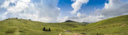 blue sky panorama green nature landscape slovenia velikaplanina nikond7000