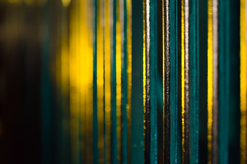 Electric Fence, Soho by flatworldsedge
