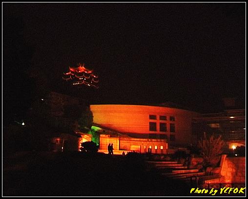 杭州 吳山天風景區 - 076 (城隍閣 從吳山天風廣仰望城隍閣夜景)