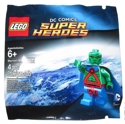 LEGO DC Comics Super Heroes Martian Manhunter Polybag
