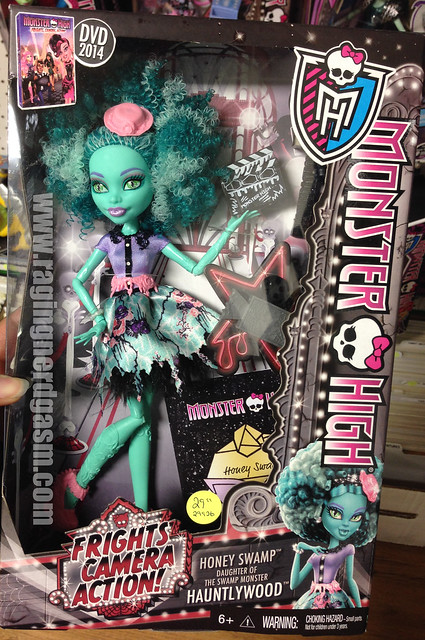 Monster high frights camera action honey swamp