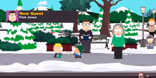 South Park: The Stick of Truth - Find Jesus