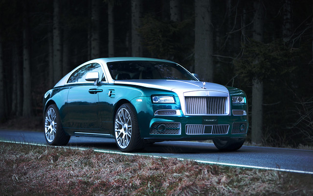 Rolls Royce Wraith by Mansory
