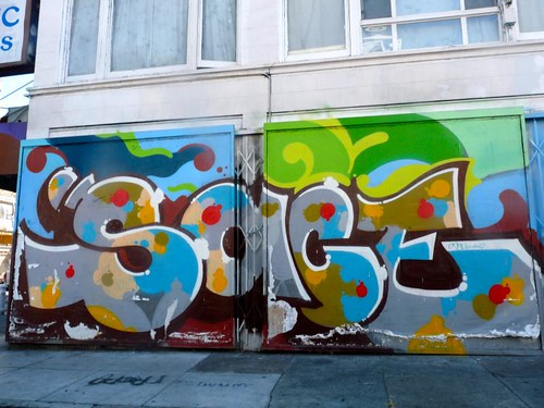 USA, San francisco, Streeart