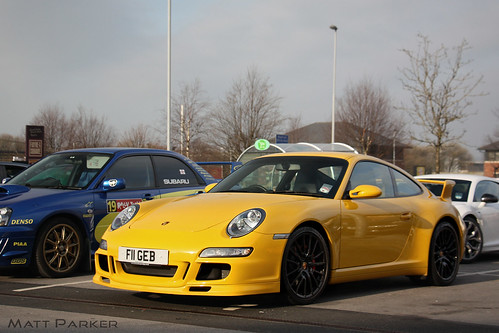 Speed Yellow by Matt Parker Automotive Photography