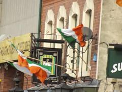 St Patrick's Day - The Kerryman - Digbeth - Irish flags