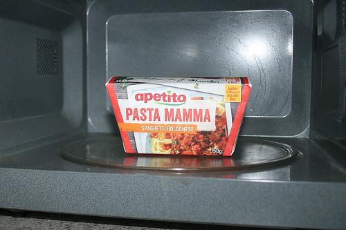 06 - apetito Pasta Mamma - In Mikrowelle erhitzen / Heat in Microwave