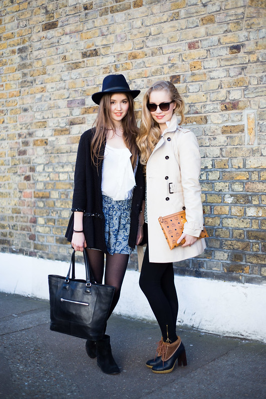Street Style - Charlotte & Sarah, Columbia Road