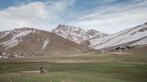 horse mountain snow nature montagne landscape lumix scenery panasonic morocco maroc atlas paysage 風景 highatlas oukaimeden gx1 angour 14mmf25 aminefassi aminefassicom