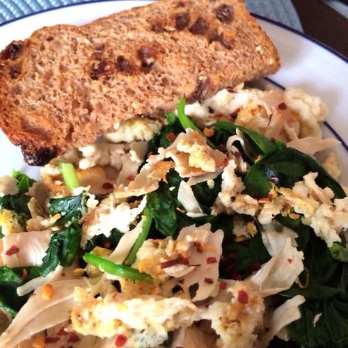savory egg scramble