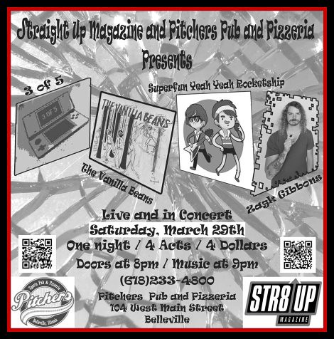 Str8 Up Magazine Showcase 3-29-14