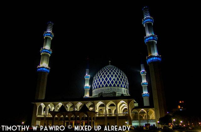 Asia - Malaysia - Selangor - Shah Alam - The Blue Mosque