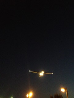 Watching planes land and take-off, Eilat