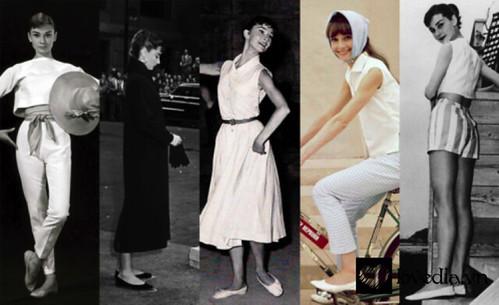 [Fashion] Phong cách thanh lịch vượt thời gian của nàng Kim Ngưu Audrey Hepburn