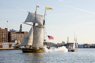 Sea Battle Reenactment