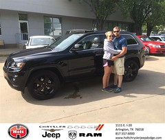 Congratulations to Whitney Jones on your #Jeep #Grand Cherokee purchase from Markynn West at Holt Chrysler Jeep Dodge! #NewCar