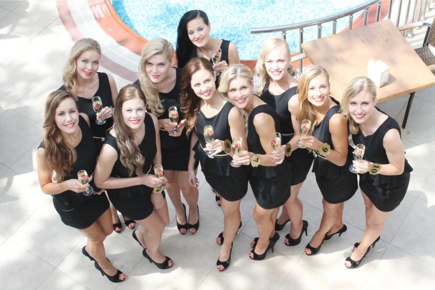 Miss Finland Güzellik Yarışması finalistleri Alanya'da kampa girdi