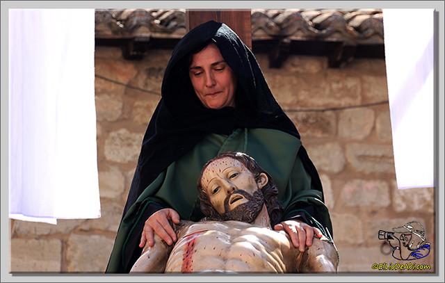 12 Via Crucis Semana Santa en Briviesca