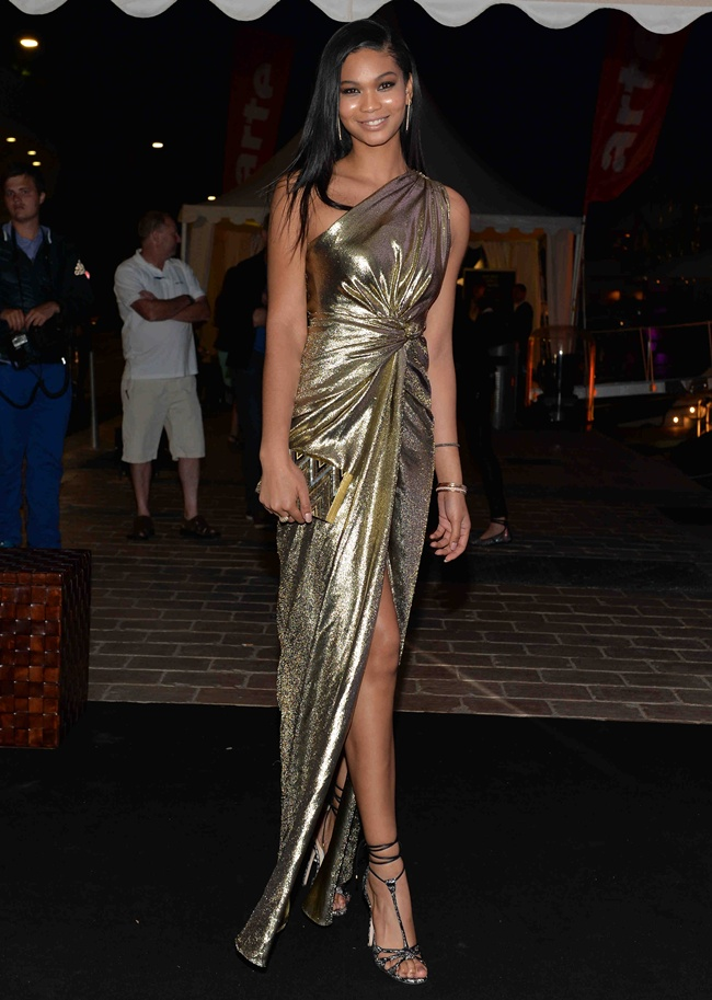 99 Chanel Iman at Roberto Cavalli Dinner Party in Cannes