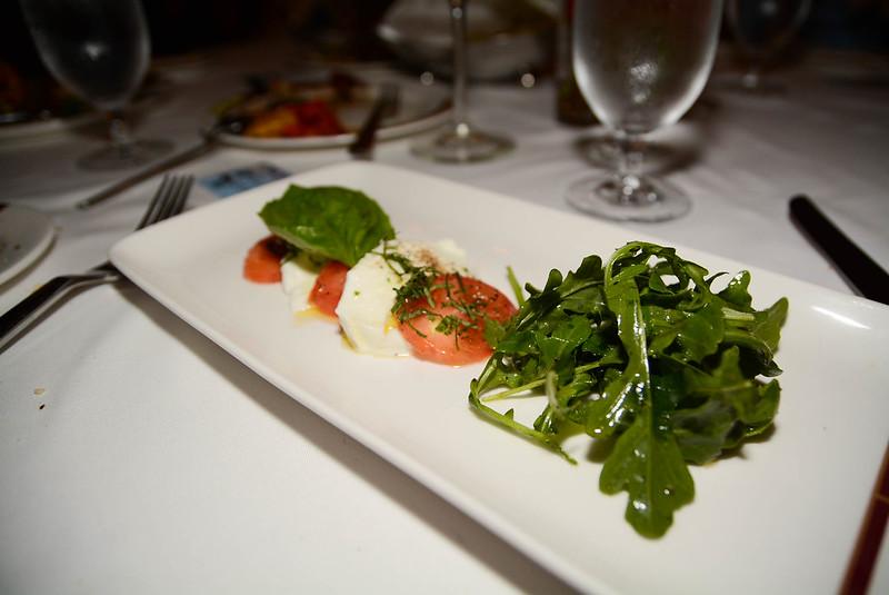 Mozzarella and Plum Tomatoes