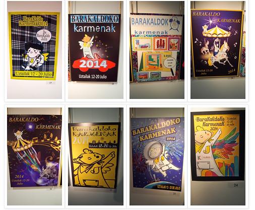 Expo Carteles de Fiestas de Barakaldo 2014