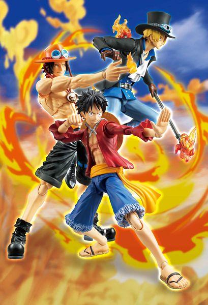 【新增官圖 & 販售資訊更新!】炎の3兄弟到齊!VARIABLE ACTION HEROES《海賊王》 薩波