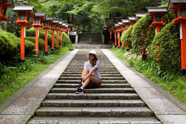 Day trip from Kyoto to Kibune