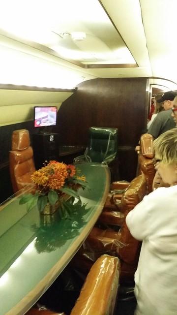 Inside Elvis' Jet