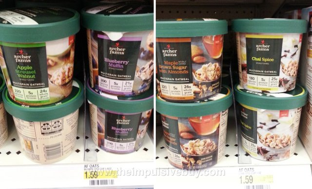 Archer Farms Multigrain Oatmeal Cups