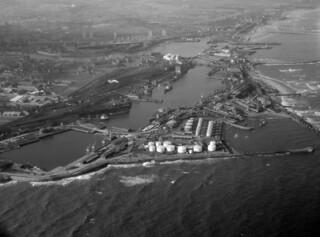 Sunderland Harbour and Docks, 1965