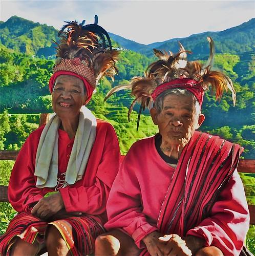 Two Ifugao Tribal Elders, Banaue Philippines