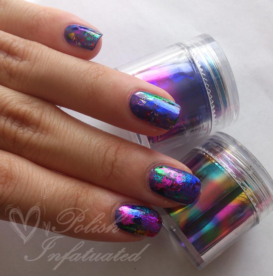 Review born pretty store nail foils nail polish holder polish infatuated - Foil nail art ...