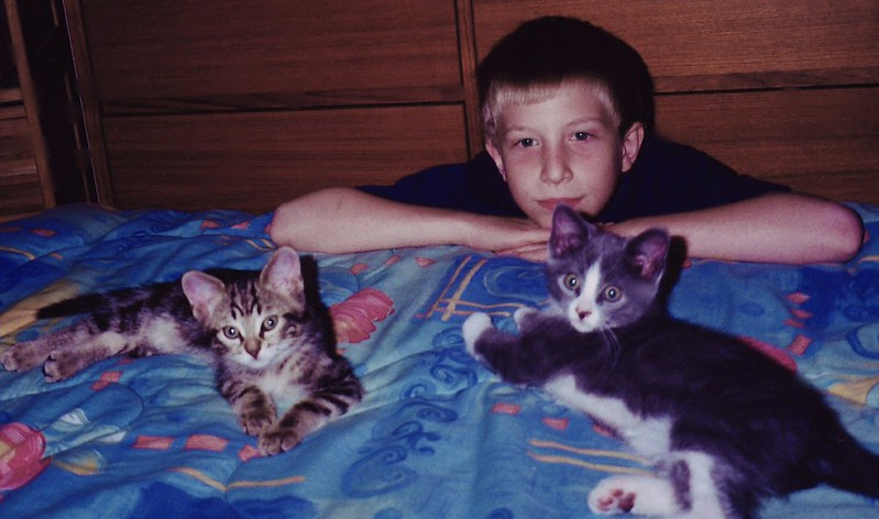Alex with skitty and zephyr
