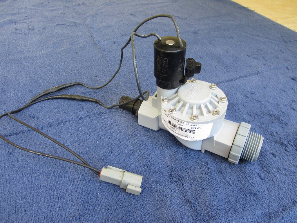 Three Solenoid Ballast Valves and Manifold System – Sprinkler Valve