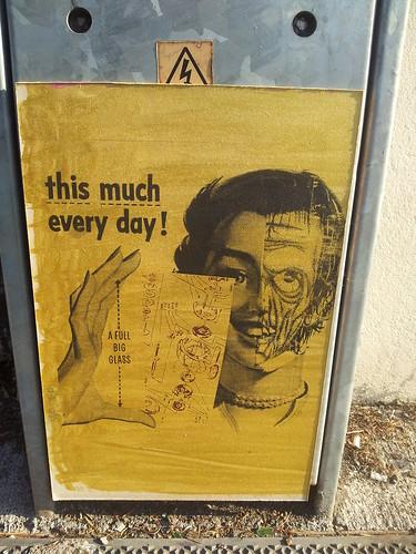 strange street art