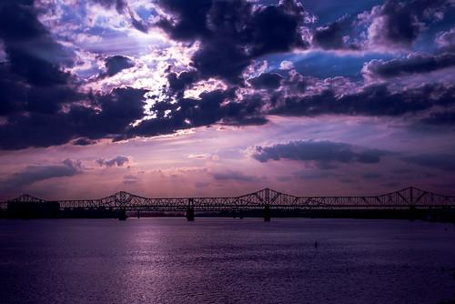 bridge unitedstates kentucky louisville ohioriver