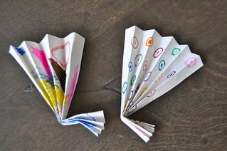 Origami - Summer Fans