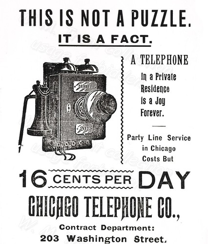 Chicago advertisements.