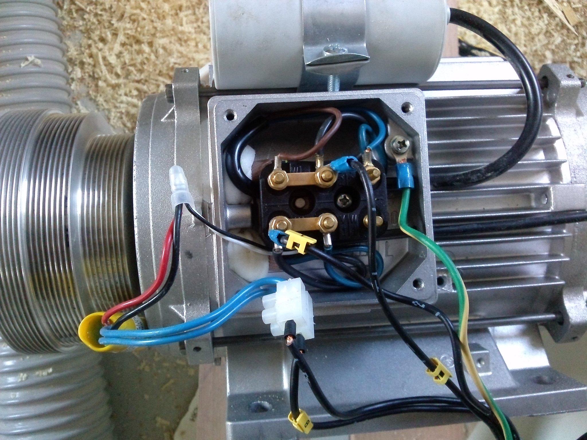 Schema Elettrico Motore Monofase Avanti Indietro : Inversione rotazione motore monofase u il forum di electroyou