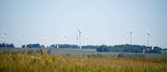 prairie, machine, windmill, plain, wind, wind farm, electricity, wind turbine,