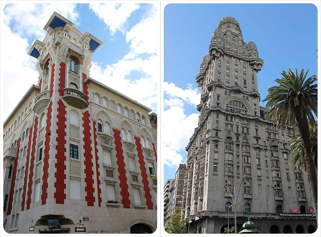 Historic buildings in Montevideo