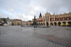 Museum At Market Square In Krakow