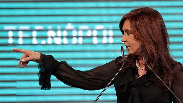 Cristina Kirchner en Tecnópolis 2013