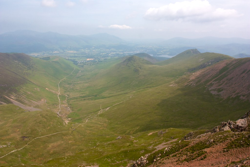 Coledale from Eel Crag