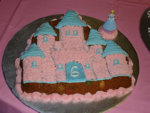 Castle Cookie Cake