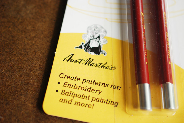 Aunt Martha's Transfer Pencils