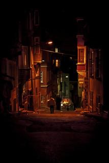 Taksim night street