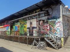 Graffiti auf RAW-Gelände (Berlin Friedrichshain)
